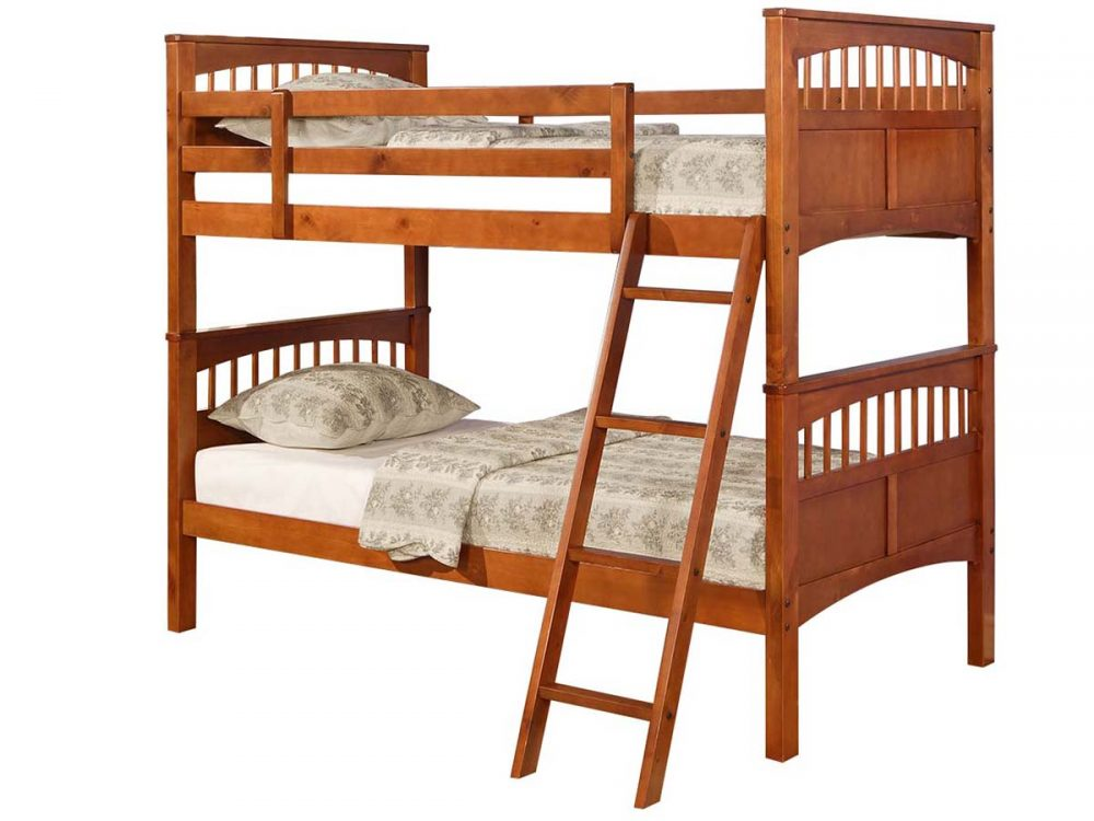 BN-BB01 CHEAP WOODEN BUNK BED
