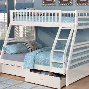BN-BB02 KIDS BUNK BED WITH TWIN/FULL