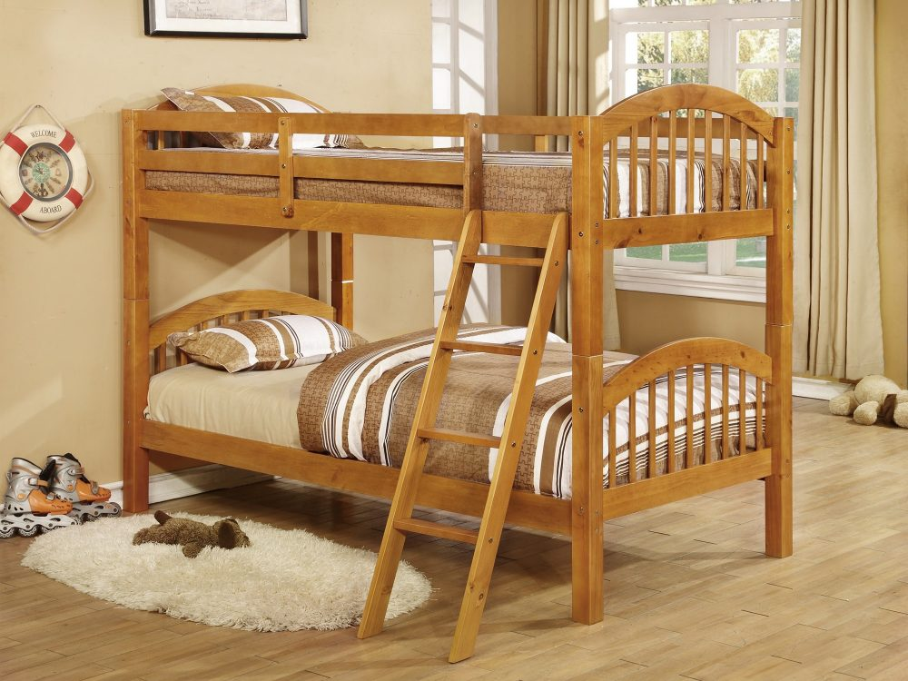 BN-BB03 BUNK BED SOLID PINE