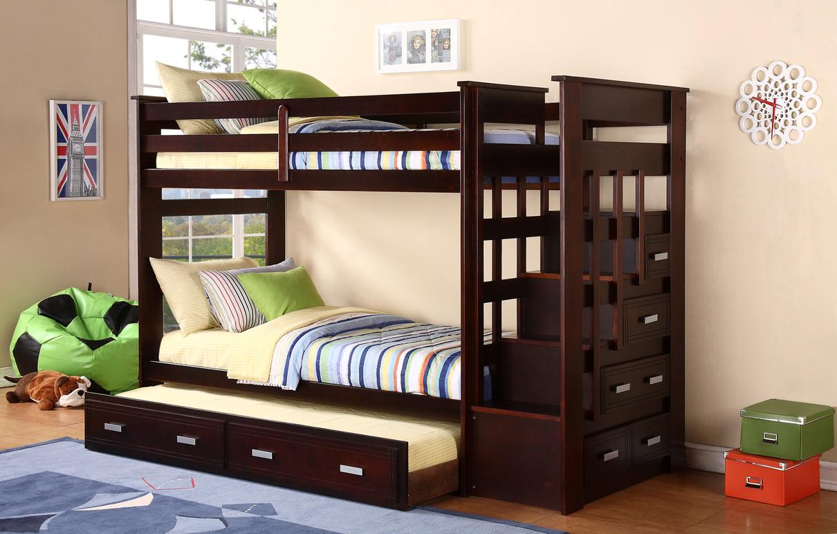 Picture of: Bn Bb10 Best Used Wooden Bunk Bed Baongoc Wooden Furniture
