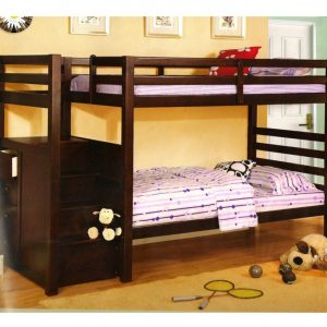 BN-BB11 KIDS BUNK BED WITH TWIN/TWIN