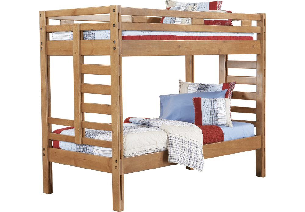 BN-BB15 CHEAP WOODEN BUNK BED IN VIETNAM