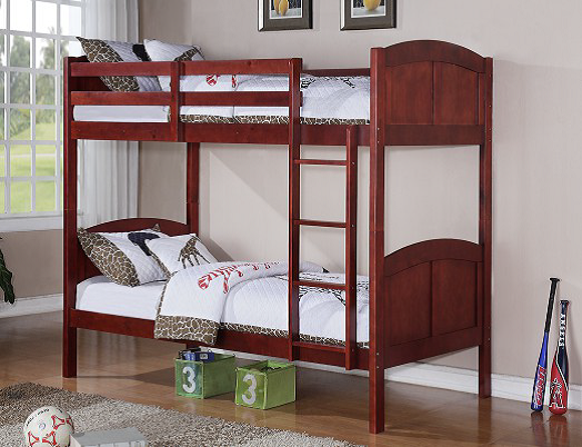 BN-BB26 CHEAP BUNK BED WITH TWIN/TWIN