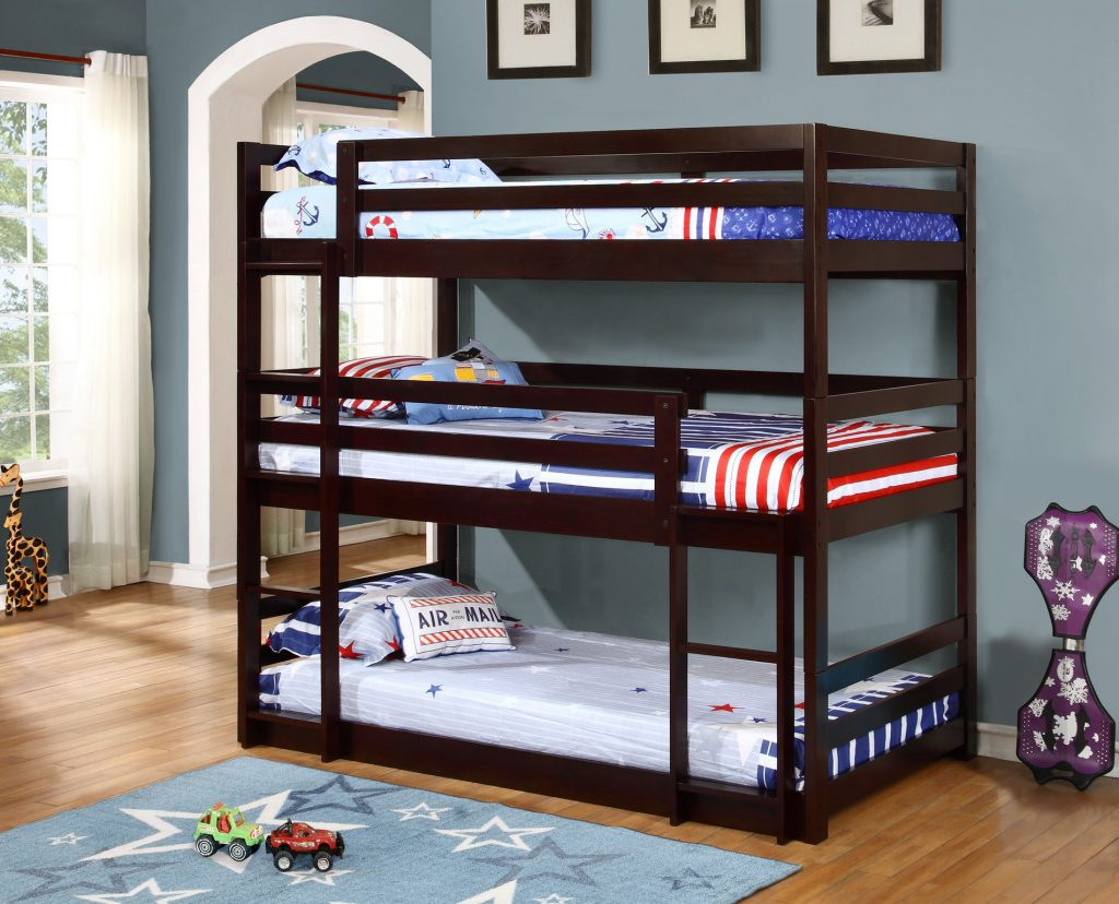 BN-BB28 TRIPLE BUNK BED