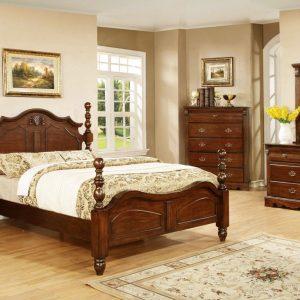 BN-BR01 best sell bedroom furniture with birch veneer