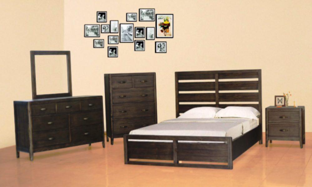 BN-BR04 pine wood bedroom furniture