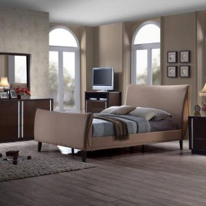 BN-BR08 Exeter Upholstered Platform Bed