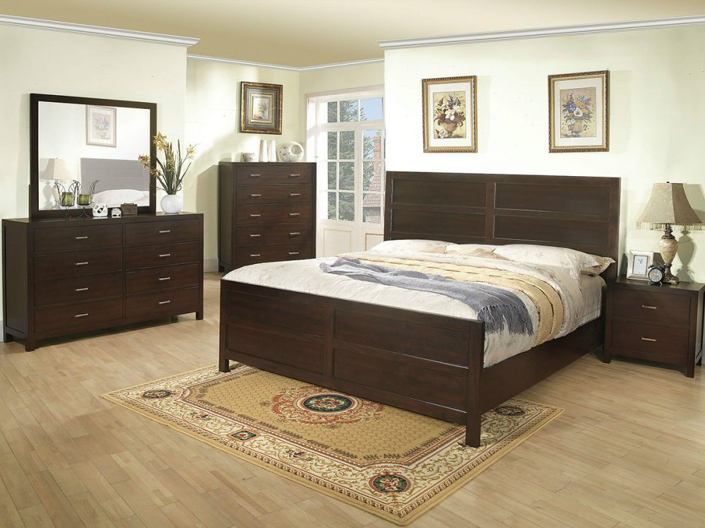 BN-BR18 Cheap Bedroom Furniture with MDF in vietnam