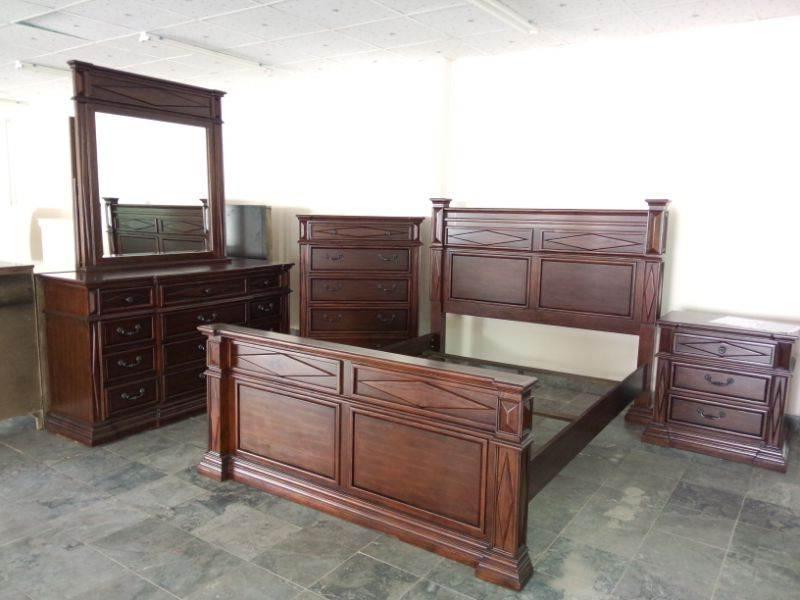 BN-BR23 PINE wood bedroom furniture