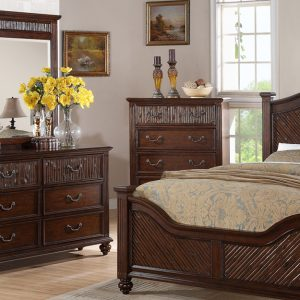 BN-BR28 Modern Bedroom Collections w/ Tufted Heaboard & Footboard