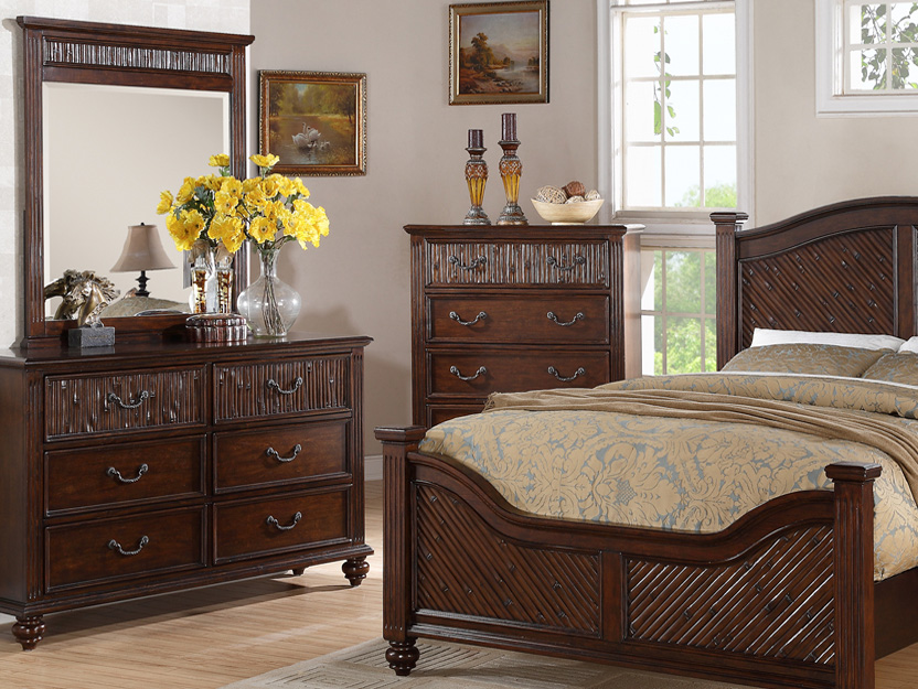 BN-BR28 Modern Bedroom Collections w/ Tufted Heaboard & Footboard ...