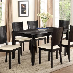 BN-DN05 DINING ROOM COLLECTIONS W/ LEATHER SEAT