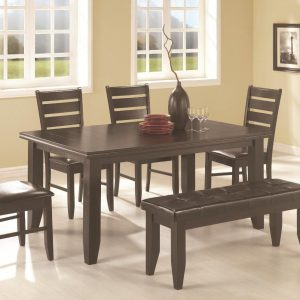 BN-DN10 DINING ROOM FURNITURE W/ LEATHER SEAT IN VIETNAM