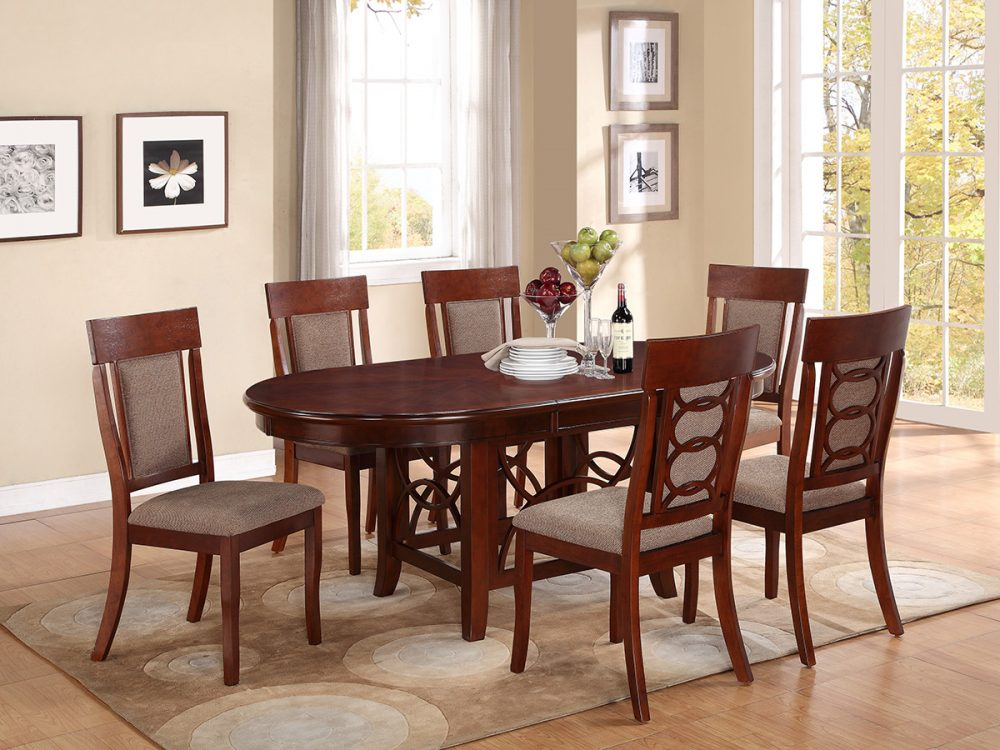 BN-DN17 SOLID WOOD DINING ROOM FURNITURE