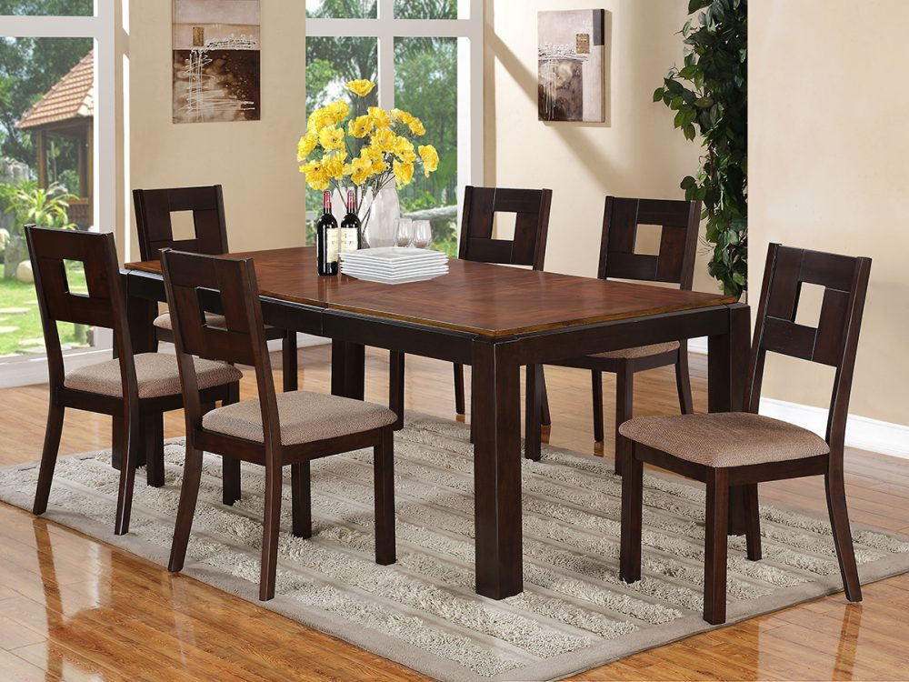 BN-DN18 WOODEN DINING ROOM FURNITURE IN VIETNAM