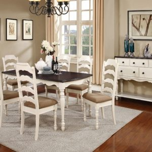 BN-DN49 DINING ROOM SET AND SERVER HARDWOOD FURNITURE IN VIETNAM