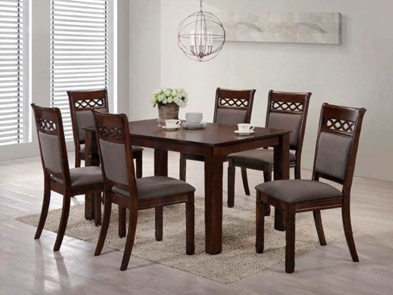 BN-DN51 CHEAP DINING SET WITH FABRIC
