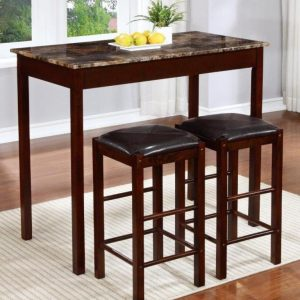 BN-DN54 THE COUNTER HIGHT TABLE WITH 2 STOOL