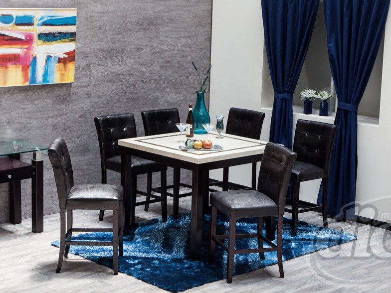 BN-DN58 DINING ROOM FURNITURE WITH MARBLE TOP BEST SELL IN VIETNAM