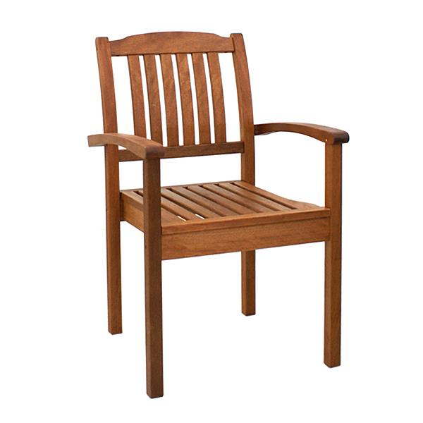 BN-OD14 STACKING ARM CHAIR 15 X 30