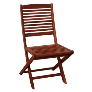 BN-OD26 FOLDING ARMLESS CHAIR 15 X 23