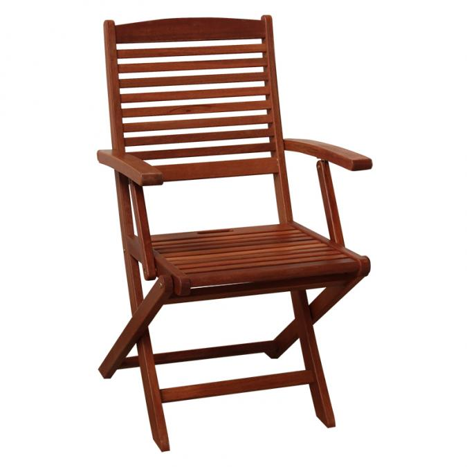 BN-OD27 FOLDING ARM CHAIR 15 X 23