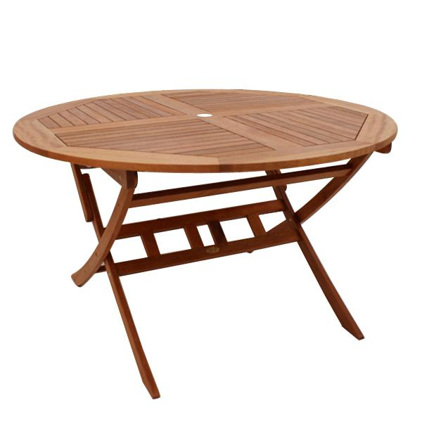 BN-OD61 ROUND FOLDING TABLE 1300 - CURVED LEG