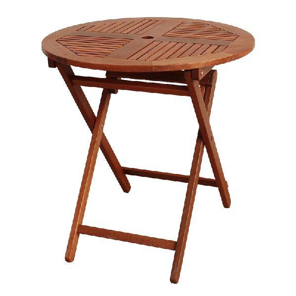 BN-OD63 ROUND FOLDING TABLE 700 - STRAIGHT LEG
