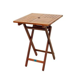 BN-OD65 SQUARE FOLDING TABLE 600 - STRAIGHT LEG