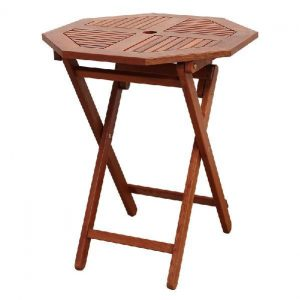 BN-OD69 OCTAGONAL FOLDING TABLE 600 - STRAIGHT LEG